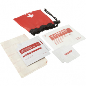 First Aid Kit In A Drawstring Bag