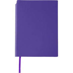 PU Notebook With A Matching Colour Ribbon Marker