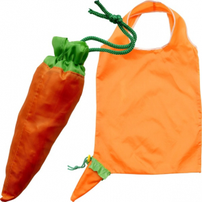 Foldable Shopping Bag With Shaped Pouch
