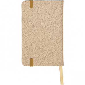 Notebook With A PU Cork Effect Cover