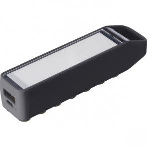 Plastic Power Bank With A 2200mAh Capacity