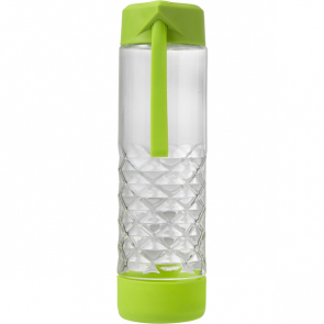 Glass Drinking Bottle With Carry Strap