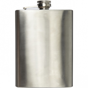 Stainless Steel Hip Flask With Screw Cap