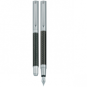 Senator Carbon Line Metal Fountain Pen