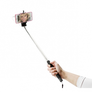 Selfie Stick With Push Button