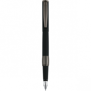 Senator Image Black Line Metal Fountain Pen