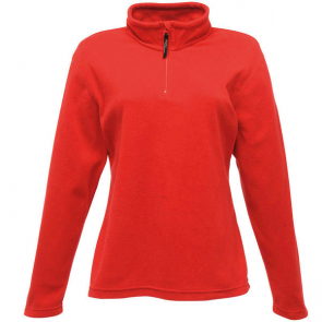Women's Zip-Neck Mirofleece