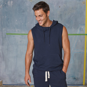 Sleeveless Fleece Hoody