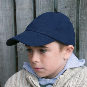Junior Low Profile Heavy Brushed Cotton Cap