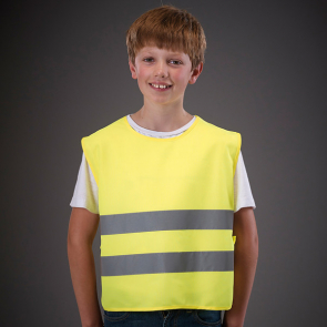 Kids Hi Vis 2 Band Tabard