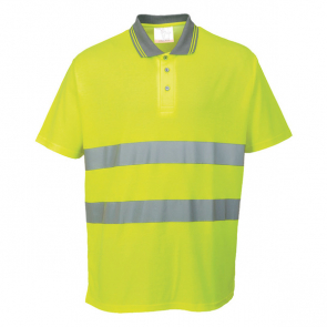 Hi-Vis Cotton Comfort Polo Shirt