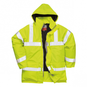 Bizflame Rain Hi-Vis Anti-Static Fr Jacket