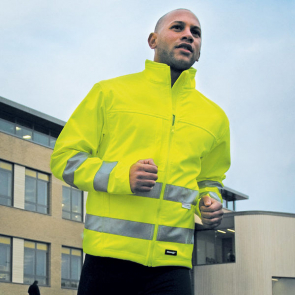 Core High Viz Winter Softshell En471 Class 2