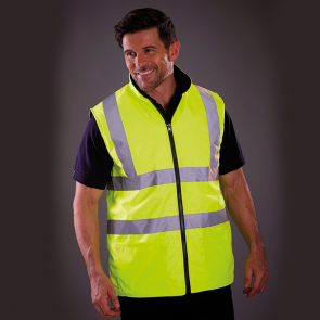 Hi Vis Reversible Fleece Bodywarmer
