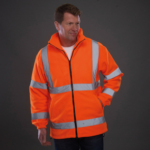 Hi Vis Heavyweight Fleece Jacket