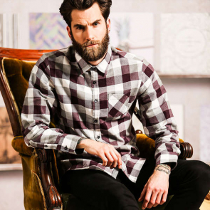 Persuader - Long Sleeve Check Shirt