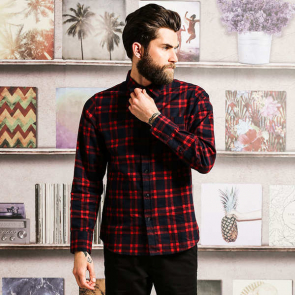 Slater - Long Sleeve Check Shirt