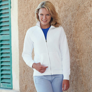 Premium 70/30 Lady-Fit Sweatshirt Jacket
