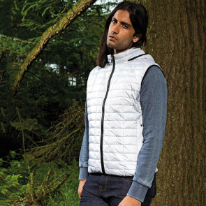 Honeycomb Hooded Gilet
