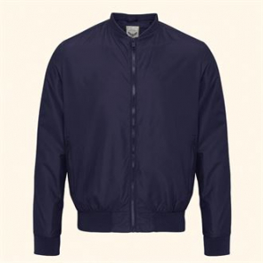 Sanjay - Bomber Jacket With Ribbed Cuff