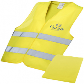 Professional Safety Vest In Pouch