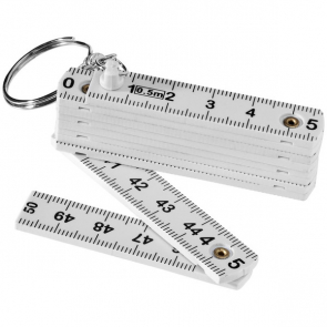 Foldable Ruler Keyring