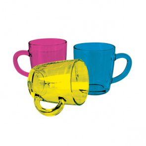 Colour Coat Glass Mug