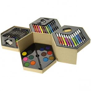 52-Piece Colouring Set
