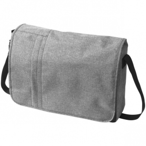 Heathered 15.6'' Computer Messenger Bag