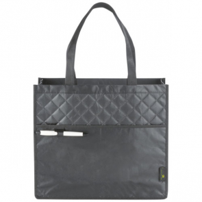 Cross, Quilted Laminated Non-Woven Carry-All Tote