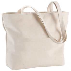 NinGBo Zipped Shopper Tote