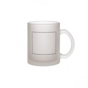 Budget Buster Frosted Glass Mug