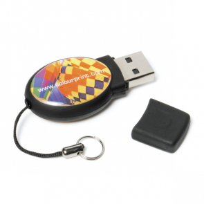 Epoxy Oval USB FlashDrive