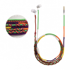 Earbuds Braided colour
