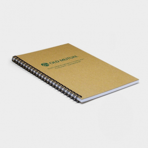 Recycled Natural Notebook