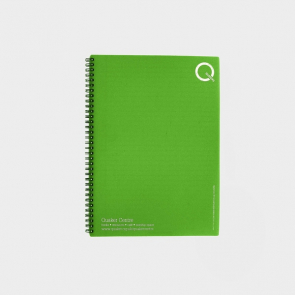 Recycled Polypropylene A4 Notebook
