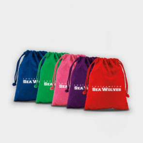 Medium Coloured Drawstring Pouch