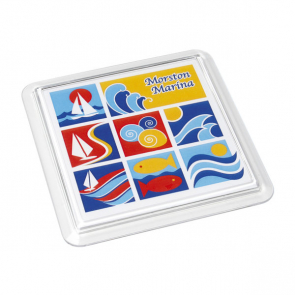 Acrylic Coaster Square