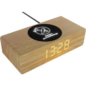 10W Wireless Wooden Charging Station