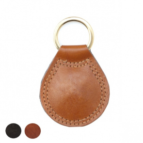Richmond Deluxe Nappa Leather Large Teardrop Key Fob