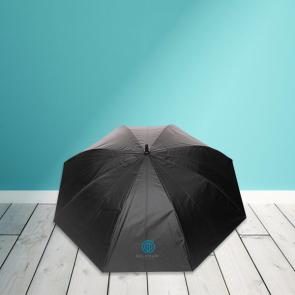 "27"" Impact AWARE™ RPET 190T Dual Colour Auto Open Umbrella"
