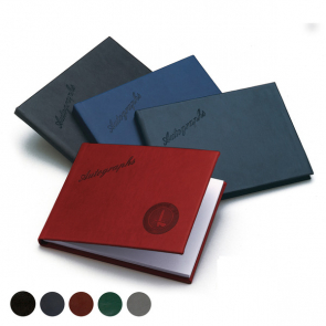 Hampton Leather Autograph Book