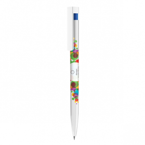 Senator Liberty Polished Plastic Ballpen With Xtreme Branding