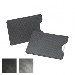 Carbon Fibre Textured Credit Card Slip Case