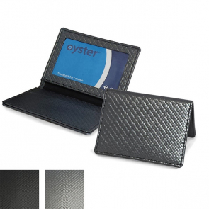 Carbon Fibre Textured Oyster Travel Card Case