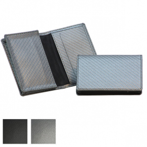 Carbon Fibre Textured Business Card Dispenser