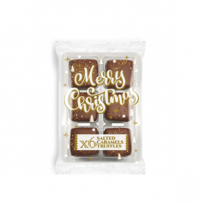 Winter Collection 2020 – Flow Wrapped Tray - Dark Chocolate Salted Caramels