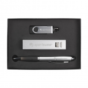 Powerbank, Pen and USB Gift Set