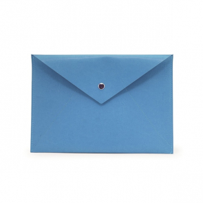PU Document Wallet with Press Stud Closure