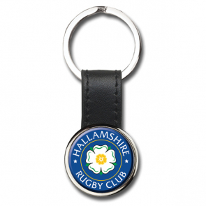 Round i-zu Keyring With Polycrown Emblem